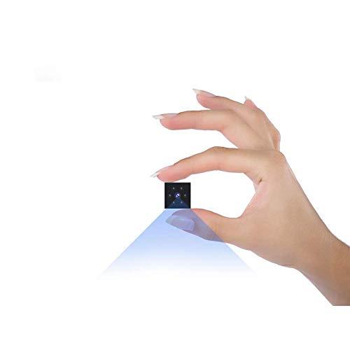 Camara Espia Oculta, Full HD Mini Cámara Espía de Vigilancia Camuflada con Sensor de Movimiento y Visión Nocturna Vigilancia Portátil Secreta Compacta Camara Seguridad Pequeña Interior/Exterior