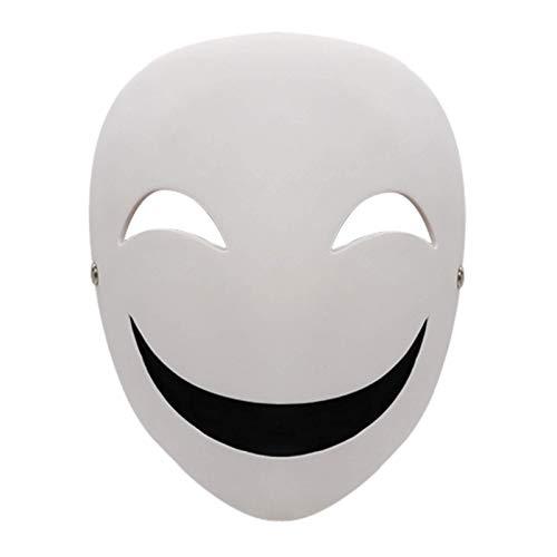 N\C Máscara de Halloween Anime japonés Black Bullet Kagetane Hiruko Cosplay Prop Máscara Casco Headwear Máscara de Halloween