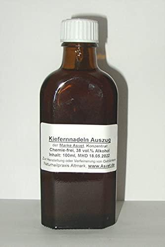 Asvet 100ml Kiefernnadeln Auszug, Kiefernadel Tee Konzentrat, Vollspektrum Extrakt mit hervorragender Bioverfügbarkeit