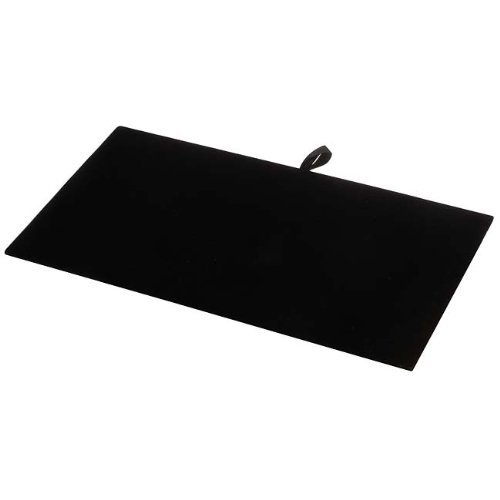 RJ Displays New Black Velvet Pad Tray Insert Jewelry Display