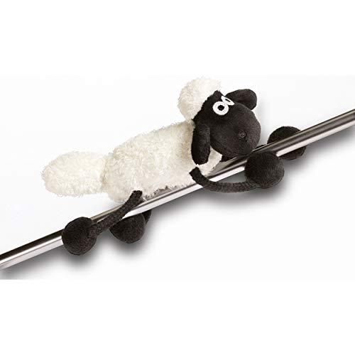 NICI Magnettier Shaun das Schaf 14,5 cm – MagNICI Magnettiere Shaun das Schaf – Stofftiere & Kuscheltiere mit Magnet – Magnet-Plüschtier Shaun für Kühlschrank, Tafel, Metall – Schaf Magnettier – 33100