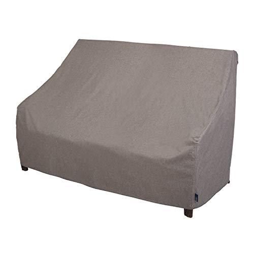 Modern Leisure 3008 Garrison - Funda impermeable para sofá de jardín (82.5 x 38 x 38.25 pulgadas), color gris jaspeado