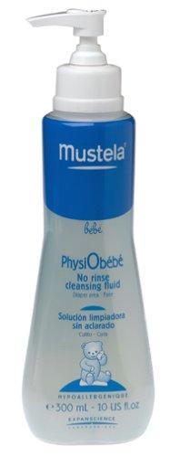 Mustela - Solución Limpiadora sin Aclarado Physiobebé Mustela 300ml