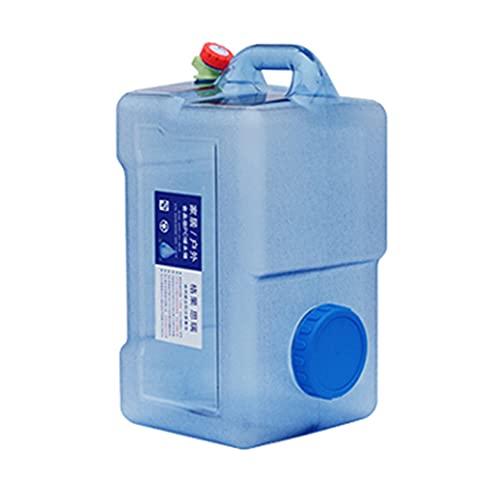 YXYXX Portátil Bidón Tanque De Agua, Utilizado para Acampar, ir de Excursión, Hacer Picnic, Viajar y Hacer Barbacoas/azul / 18L