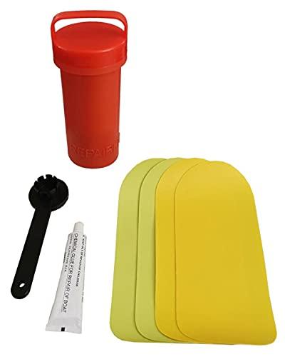 Jobe Multi Rider - Kit de reparación de remo hinchable de PVC para tabla de SUP inflable