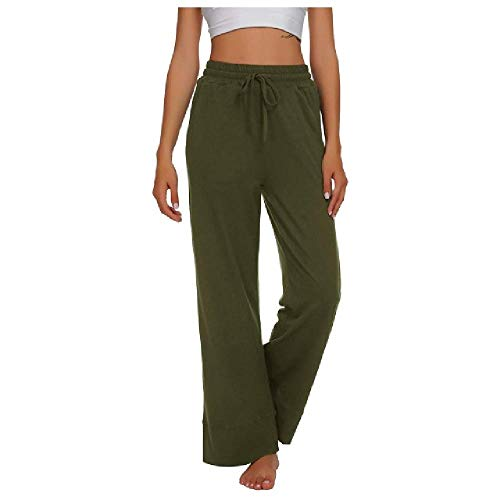 N\P Pantalones casuales cómodos para mujer, pantalones largos