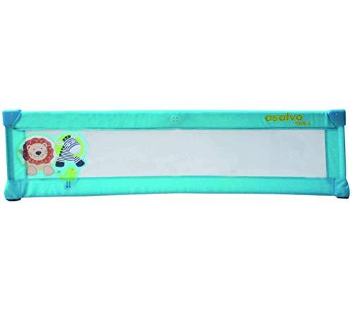 Barrière de lit Baby Fox 150 cm 'Jungle' - Bleu