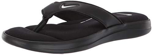 Nike Ultra Comfort 3 Womens Thong Sandal Ar4498-003 Size 9 Black/White
