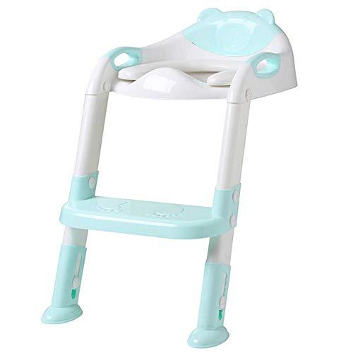 Niños Pot Baby Potty WC Entrenamiento Taburete Taburete Urinario Viaje Baby Toilet Seat Potty Silla para niños Asiento de inodoro Niños s Pot-Blue