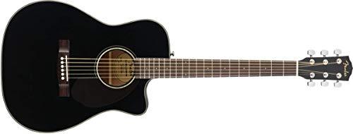Fender CC-60SCE Concert Acoustic Guitar - Black