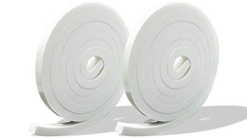 プランプ オリジナル 隙間テープ スキマッチ 白 ホワイト 厚 10 mm × 幅 12 mm × 長 2 m 2個入 日本製 ゴムスポンジ 防水 防音 すきま 窓 玄関 引き戸 隙間