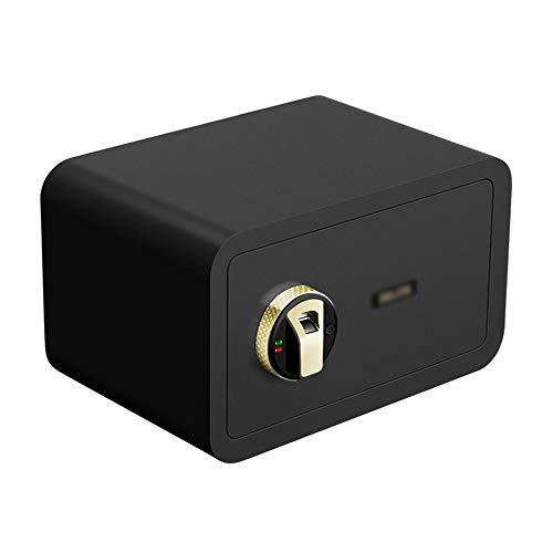 LJJL Tresore Tresore, Ganz Aus Stahl - Fingerabdruck Offen Mit Doppeltem Intelligentem Alarmsystem 13,8 X 16,9 X 9,1 Zoll Geldschrank