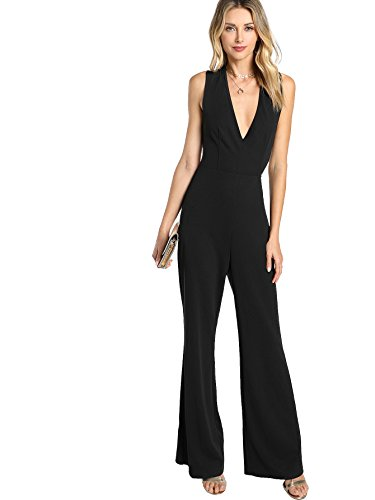 Plunging Jumpsuit