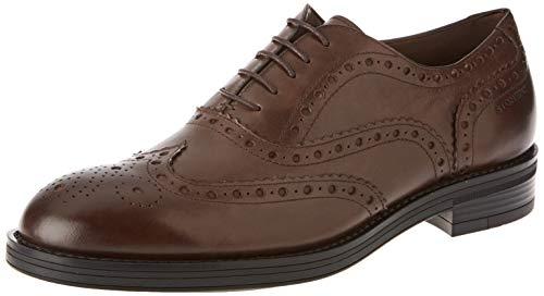 Stonefly Carnaby Calf, Zapatos de Cordones Brogue para Hombre, Marrón (Coffee Bean 012), 43 EU
