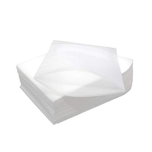 SUPVOX 50 bolsas de espuma para cojín de 30 x 40 cm, para tazas, platos, cristalería, porcelana, suministros de embalaje, almacenamiento en movimiento