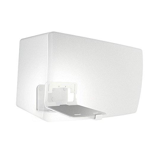 Vogel's SOUND 3205 Blanc, Support Mural Réglable pour enceintes SONOS PLAY 5, Denon HEOS 5, Denon HEOS 7 et autres