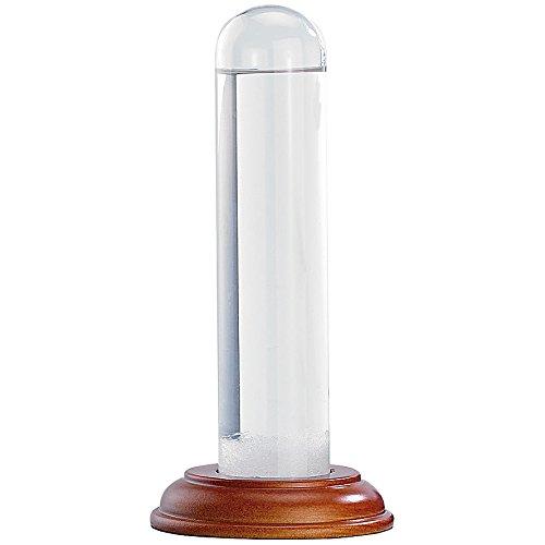 Pearl Baromètre de FitzRoy - Bouteille tempête en verre véritable, 17 cm