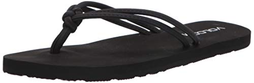 Volcom Women's Forever and Ever II Sandal, Black Out, 11 US Medium