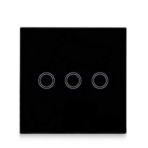 Interruptor táctil WiFi 2.4 G Smart Home, interruptor táctil WiFi, interruptor ciego...