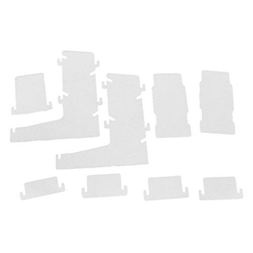 MagiDeal Transparente Würfel Turm Dice Tower Würfelturm für Brettspiel Kartenspiel