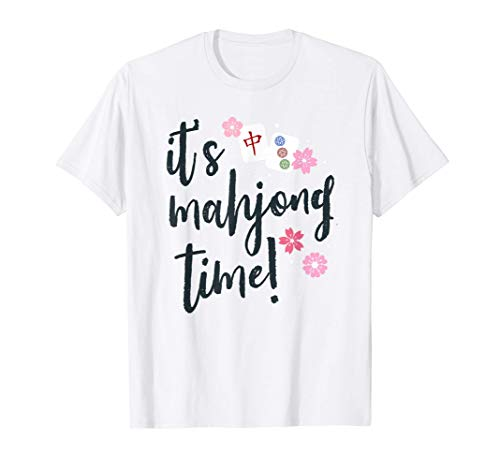 Regalo de Mahjong para ella Cita de Mahjong Camiseta