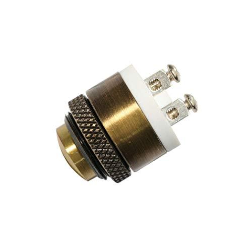 Cobeky Durable Interruptor de Timbre de Puerta con botón pulsador de Metal momentáneo de latón de 16mm Nuevo