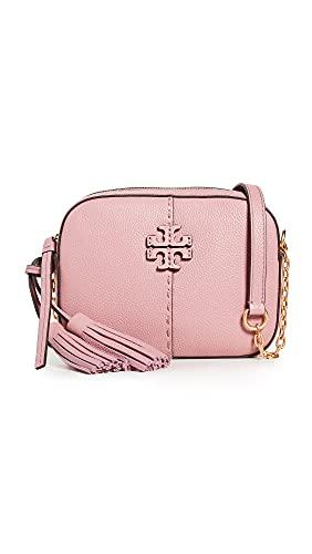 Tory Burch Women's Mcgraw Camera Bag, Pink Magnolia, One Size