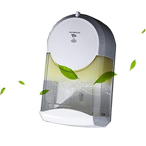 WemaSoo6 Jabonero para baño, dispensador jabon Ducha dispensador Gel y champu Ducha Dispensador de jabón Inteligente 600ml Blanco