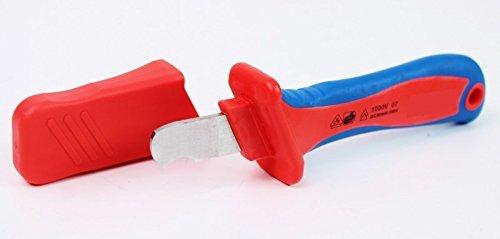 VDE Kabelmesser 1000 V Abisoliermesser Abisoliermesser Kabel Messer Elektriker 6