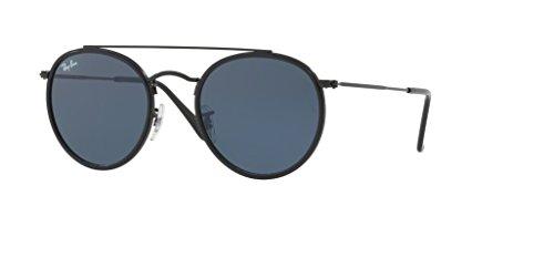 Ray-Ban RB3647N 002/R5 51M Black/Grey Sunglasses For Men For Women