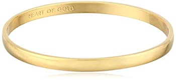 kate spade new york Idiom Collection  Heart of Gold  Bangle Bracelet 7.75