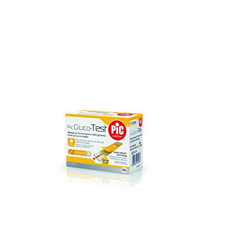 Pic solution Glucotest Strisce Per La Misurazione Della Glicemia 50 Pezzi - 50 g