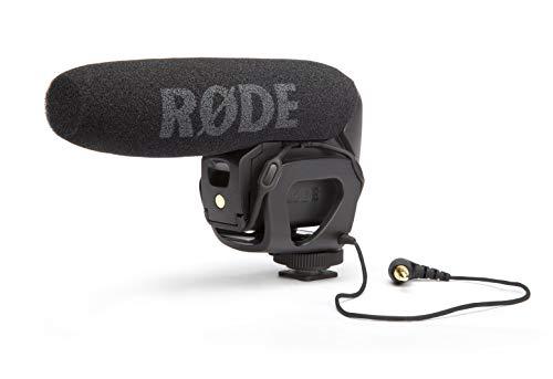 Microfone Shotgun Rode VideoMic Pro Compact com Montagem em Câmera
