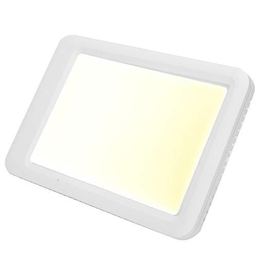 2021 Neu Blendfreie LED-Lichttherapielampe, 3-Farben-Lichttherapielampe 35000LX`, Einstellung der Tageslichtlampe für das Home Office(Without remote control)