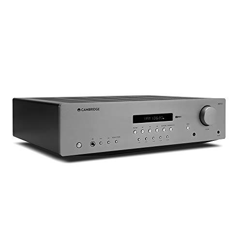 Cambridge Audio AXR85– 85-Watt-Stereo-Verstärker mit eingebautem Phono-Vorverstärker, Bluetooth und AM/FM-Tuner
