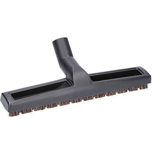 McFilter Parkettdüse 360 mm extra breit für alle Staubsauger mit 35mm Anschluss, Hartbodendüse mit Borsten aus Rosshaar