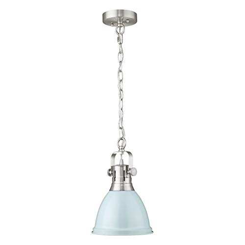 Emliviar Mini Pendant Light 8 Inch, Modern Metal Hanging...