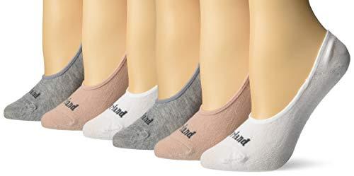 Timberland Damen 6-Pack Basic Low Liner Socks Freizeitsocken, Rose Multi, Einheitsgröße