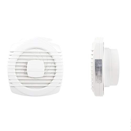 LANDUA Extractor Silencio Extintor Home Hotel Windows de Cristal Pared Cuelgue Cocina Cuarto de baño WC Ventilación Extintor