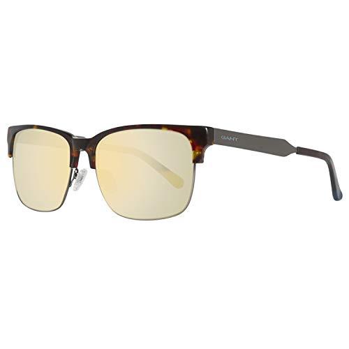 GANT GA7046 5852C Sonnenbrille GA7046 5852C Rechteckig Sonnenbrille 58, Braun