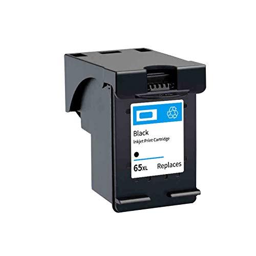 Cartucho de tinta de repuesto compatible para HP65XL, para impresora HP 2655 3720 3721 3722 3723 3752, 1 x negro
