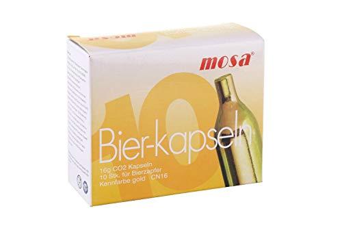 20 Stück Mosa Bierkapseln für Zapfanlagen z.B. Bier Maxx Zapfprofi