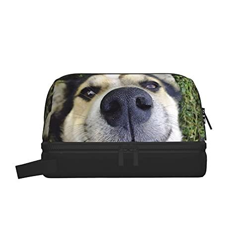 Bolsas de aseo Bolsa de lavado de nariz de perro Bolsa de maquillaje Organizador colgante de viaje...