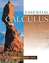 Essential Calculus Text 2nd (second) Edition by Wright; Hurd; New published by Hawkes Learning Systems (2006)