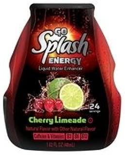 Go Splash Energy Liquid Water Enhancer Cherry Limeade (3 Pack)