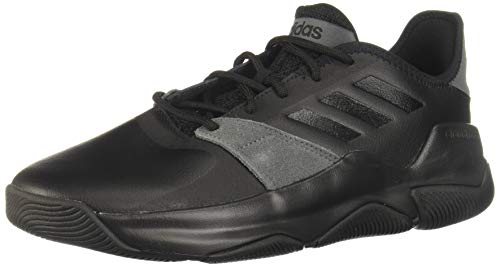 Adidas Streetflow, Zapatillas de Baloncesto Hombre, Negro (Negro 000), 45 1/3 EU
