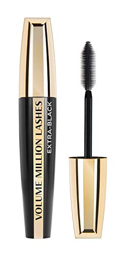 L'Oréal Paris Volume Million Lashes Extra Black Mascara, schwarz - Wimperntusche für extra...