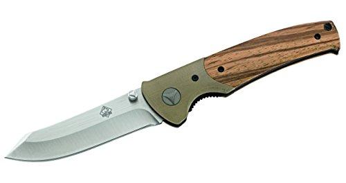 Puma tEC Couteau de Poche, d2, zebranogriff, Acier