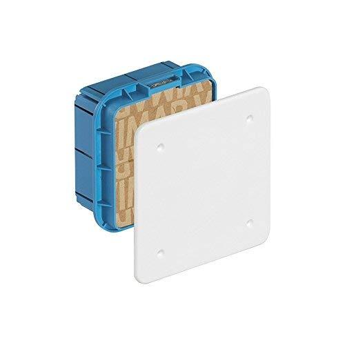 VIMAR container verdeeldoos ingebouwd met deksel wit en schroeven 116 x 92 x 50 mm