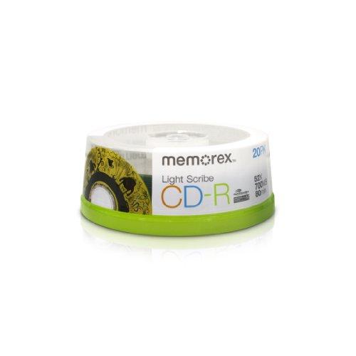 Memorex CD-R 80 LightScribe 700 MB 20 pezzo(i)